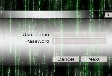 username password