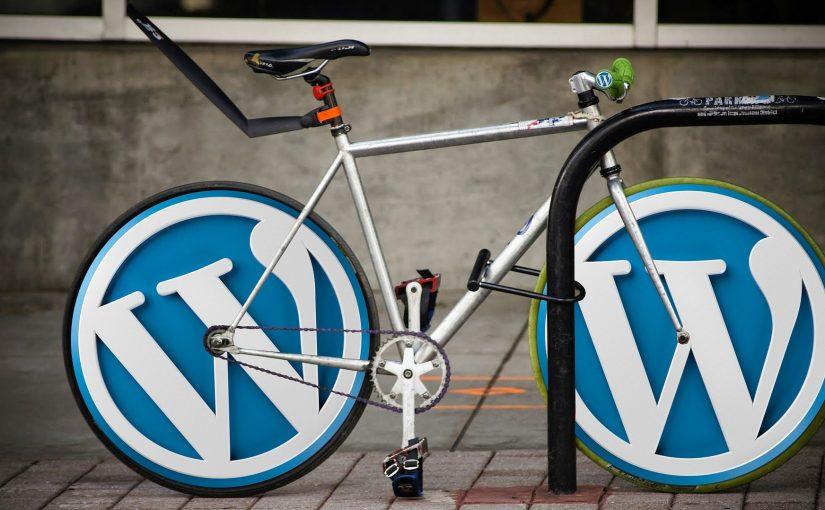 wordpress is as simple as riding a bike
